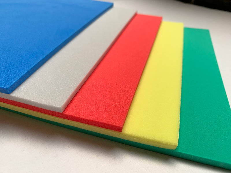 PE-Schaum Farbvarianten